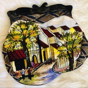 Anthropologie/ Embroidered Village/ Clutch